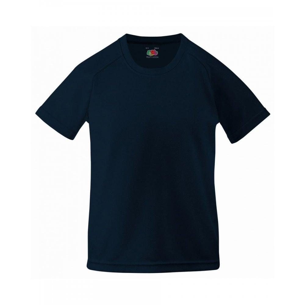 Fruit Of The Loom Children/'s Kids Junior  Performance T-Shirt Tee 61013