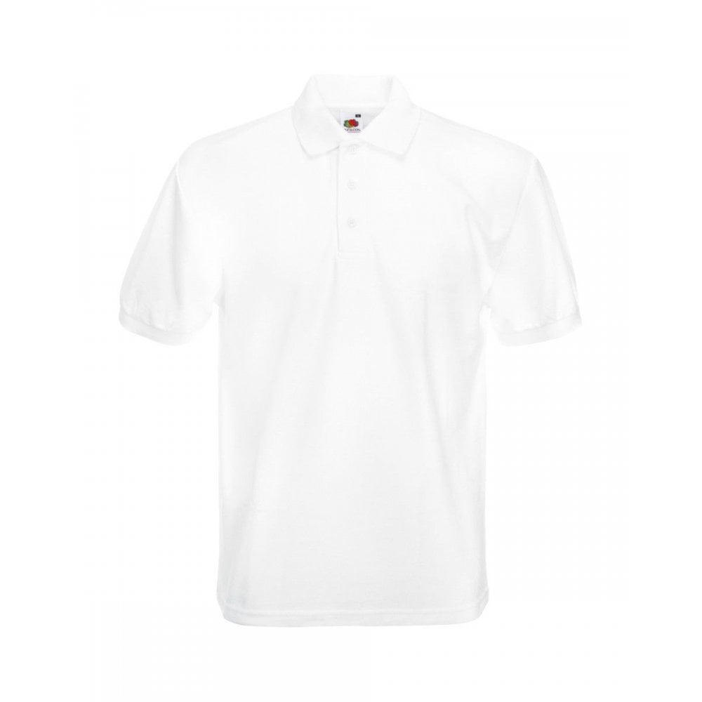 BURGUNDY MENS HEAVYWEIGHT WORK POLO SIZE S FRUIT OF THE LOOM BRAND NEW