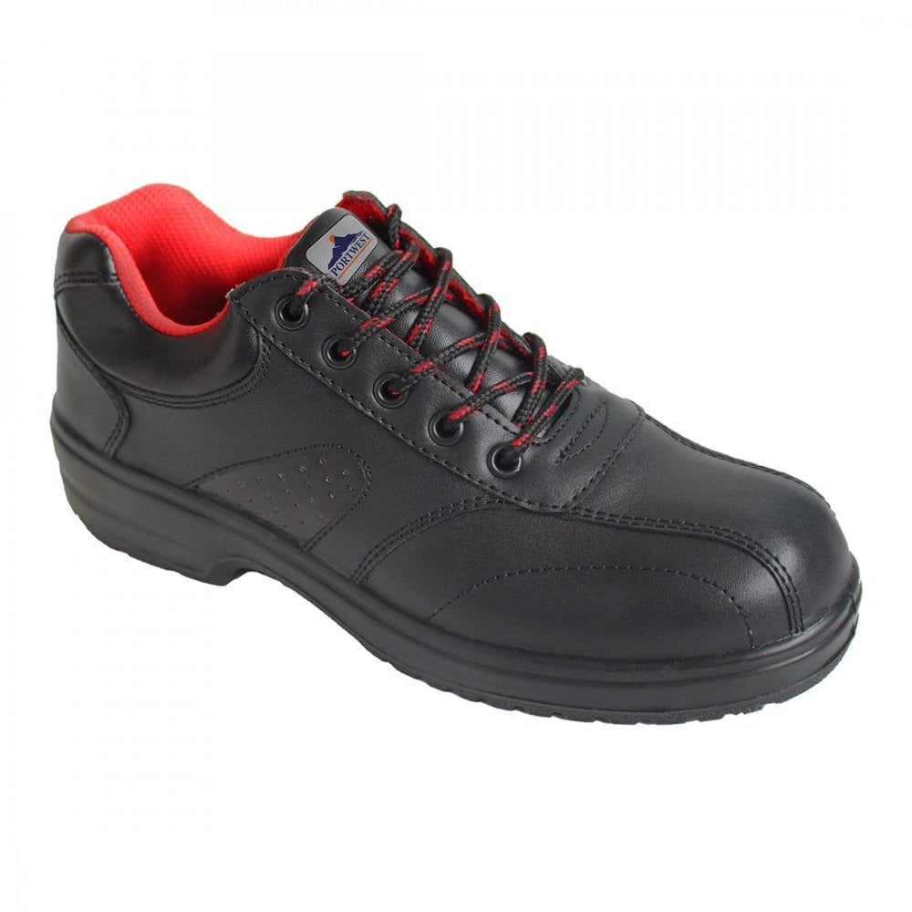 Portwest Steelite Executive Brogue Leather Corporate Shoes Safety Footwear FW46